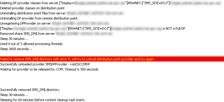 Removing a Site System Server in Configuration Manager 2012 SP1