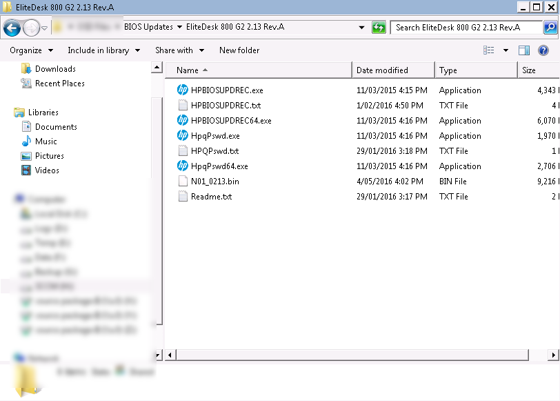 Updating HP BIOS Versions Using Configuration Manager Task Sequences